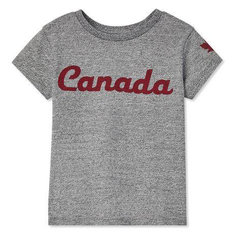Canadiana Toddler Girls' Tee - image 1 of 2