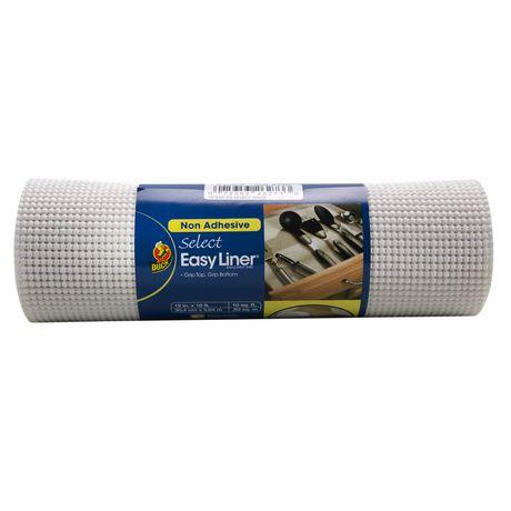 Revêtementpour étagères Select Grip de marque EasyLiner,Blanc - image 1 de 1
