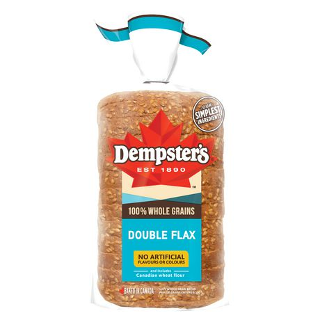 Dempster's® 100% Whole Grains Double Flax Bread - image 2 of 8