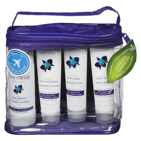 Live Clean Fresh Face Luxurious Trial & Travel Kit - image 1 of 1