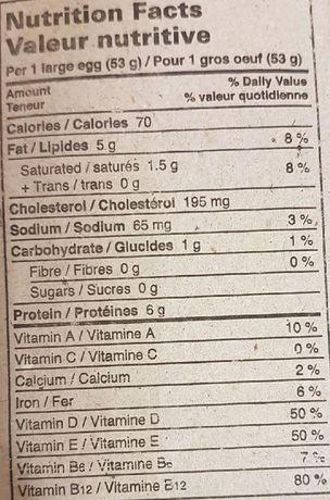 GoldEgg Golden D Vitamin D Enriched Large Eggs - image 2 of 2