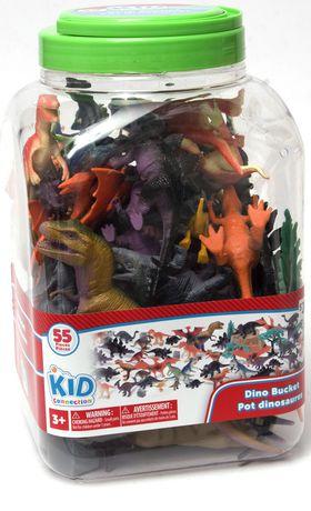 Ens. de jeu pot dinosaures kid connection - image 1 de 1