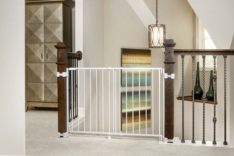 Regalo Top Of Stairs Baby Gate Walmart Canada
