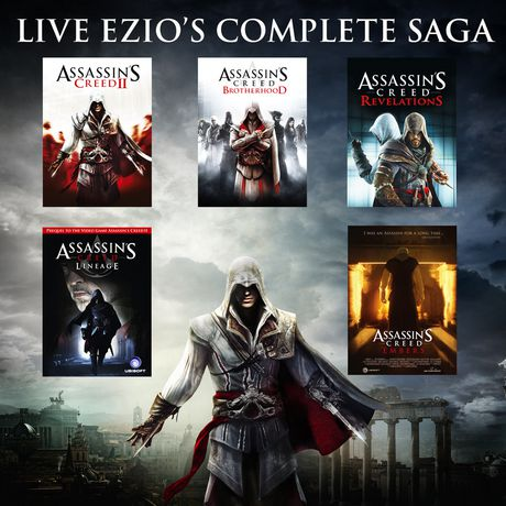 Jeu Vid 233 O Assassin S Creed The Ezio Collection Pour Ps4