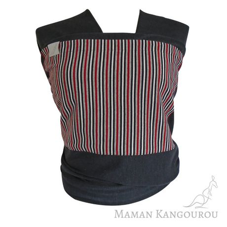 Maman Kangourou Nautical Grey Stretchy wrap - image 1 of 2
