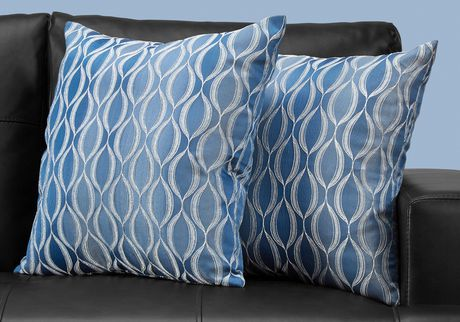 Monarch Specialties Inc Monarch Specialties Wave Patterned Decorative Pillows - image 2 of 3
