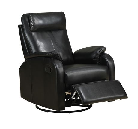 Chaise ber ante inclinable pivotante monarch specialities for Chaise bercante walmart