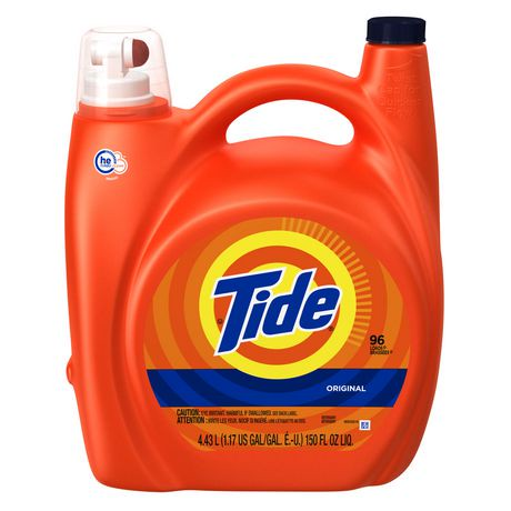 Tide High Efficiency Original Scent Liquid Laundry