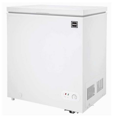 RCA 5.0 Cu Ft Chest Freezer, White - image 1 of 1
