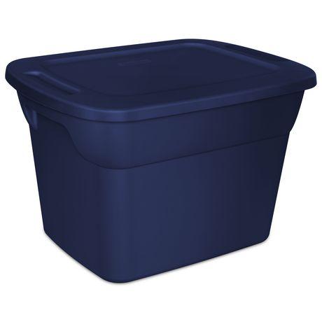 Sterilite 68L Tote- Dk Blue - image 1 of 1