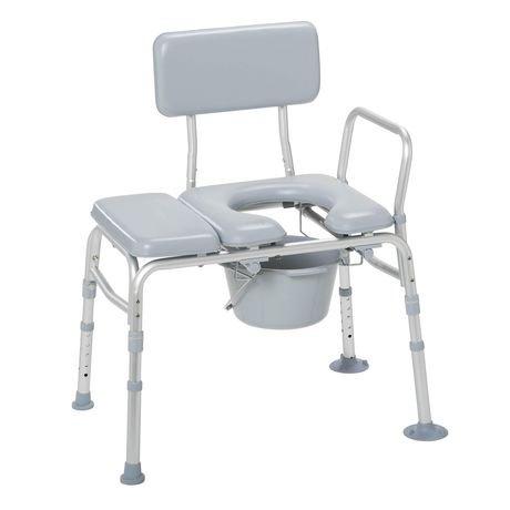 banc de transfert rembourr avec chaise d aisance de drive medical walmart canada. Black Bedroom Furniture Sets. Home Design Ideas