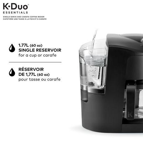 Keurig K-Duo Cafetiere Une Tasse A La Fois Et A Carafe K-Duo Essentials - image 3 de 5