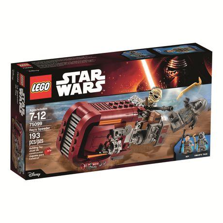 Lego Star Wars Rey's Speeder Na