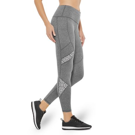 Athletic Works Women's Lace Legging - image 2 of 6