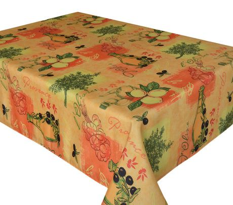 Nappe de table de sorbet texstyles deco walmart canada for Decoration maison walmart
