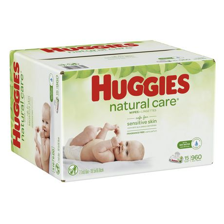 HUGGIES Natural Care Unscented Baby Wipes, Sensitive - image 2 of 4