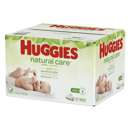 HUGGIES Natural Care Unscented Baby Wipes, Sensitive - image 3 of 4