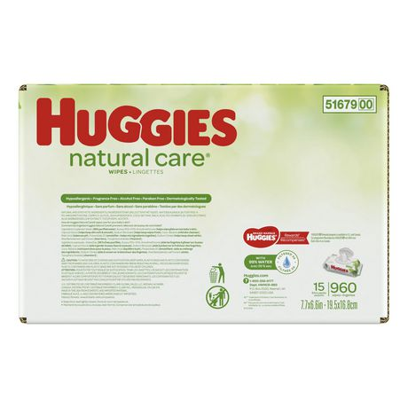 HUGGIES Natural Care Unscented Baby Wipes, Sensitive - image 4 of 4