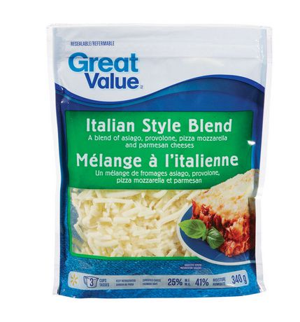 Fromage r p great value m lange l 39 italienne walmart canada - Store a l italienne ...