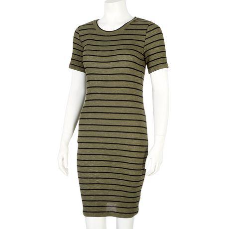 g:21 Women's Ribbed T-Shirt Dress - image 1 of 1