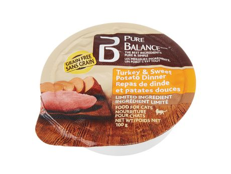 Pure Balance Turkey & Sweet Potato Dinner Wet CAT Food - image 1 of 1