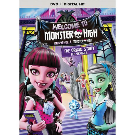 monster high welcome to monster high the origin story dvd digital hd bilingual walmart canada - Les Monster High