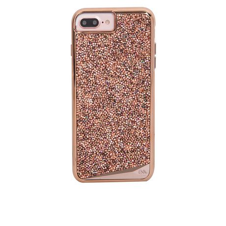 case mate brilliance case for iphone 6s 7 8 plus in rose gold walmart canada. Black Bedroom Furniture Sets. Home Design Ideas
