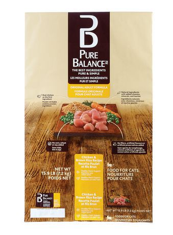 Ingredients Od Pure Balance Cat Food