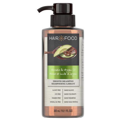 Hair Food Avocado & Argan Oil Sulfate Free Shampoo, Dye Free Smoothing - image 1 of 6