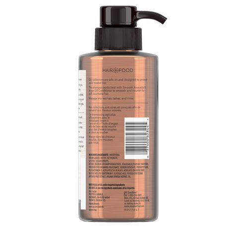 Hair Food Avocado & Argan Oil Sulfate Free Shampoo, Dye Free Smoothing - image 2 of 6