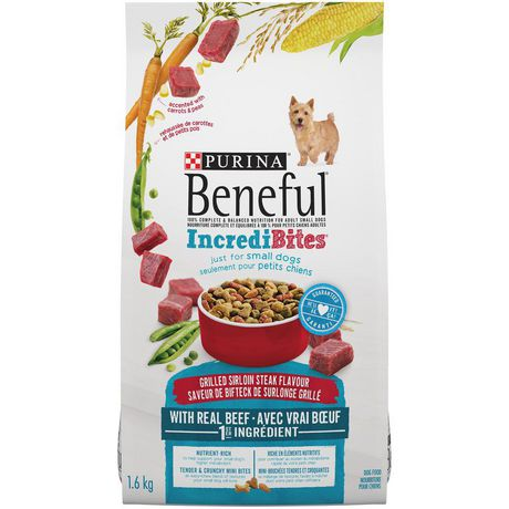 Beneful Incredibites Dry Dog Food for Small Dogs, Grilled Sirloin Steak Flavour - image 2 of 9