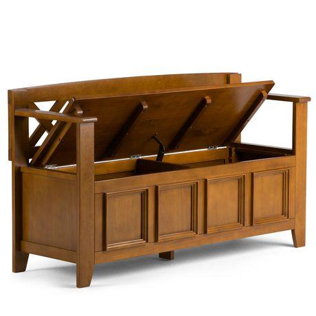 banc de rangement halifax pour l 39 entr e de wyndenhall. Black Bedroom Furniture Sets. Home Design Ideas