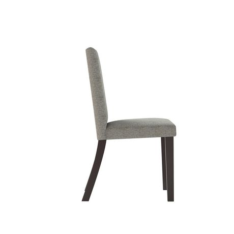 CorLiving Atwood Grey Sand Fabric Dining Chairs, Set of 2 - image 3 of 6