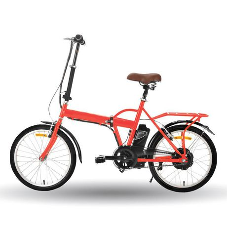 T-Zone Electric Bicycles The Traveller Folding E-Bike Economical