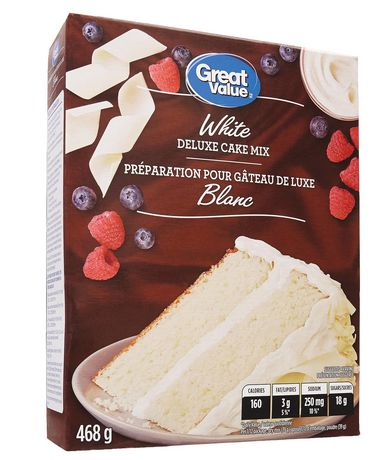 Great Value Preparation Pour Gateau Blanc - image 2 de 4