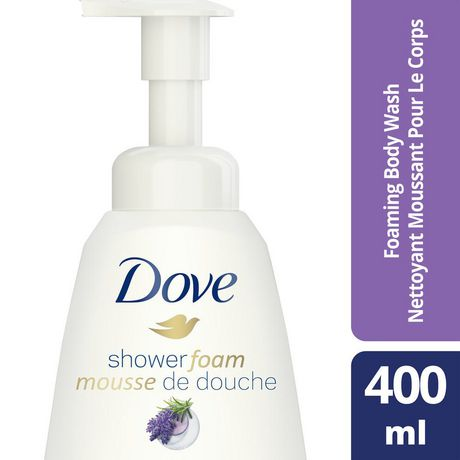 Dove Purely Pampering Relaxing Lavender Shower Foam 400ml - image 1 of 6