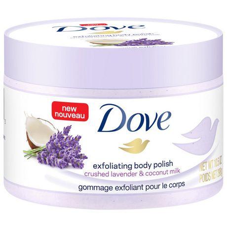Dove  Crushed Lavender & Coconut Milk Exfoliating Body Polish 298g - image 4 of 6