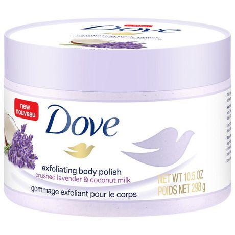 Dove  Crushed Lavender & Coconut Milk Exfoliating Body Polish 298g - image 5 of 6