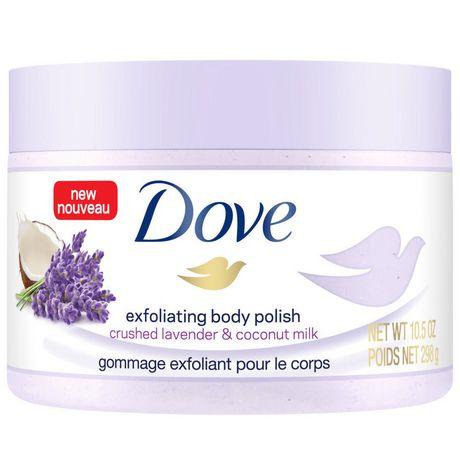 Dove  Crushed Lavender & Coconut Milk Exfoliating Body Polish 298g - image 2 of 6
