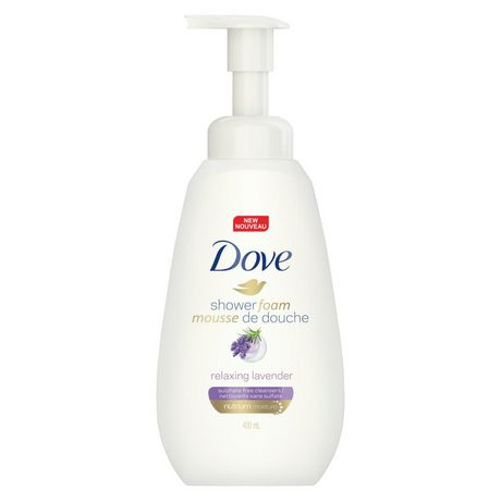 Dove Purely Pampering Relaxing Lavender Shower Foam 400ml - image 2 of 6