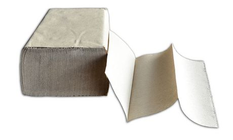Duraplus Diamond Multifold Brown Hand Towels - image 1 of 1