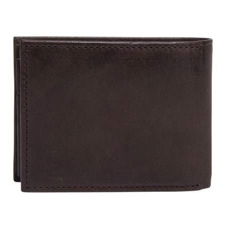 R70 Men's Genuine Slimfold Brown Wallet with Pull Id - image 4 of 6