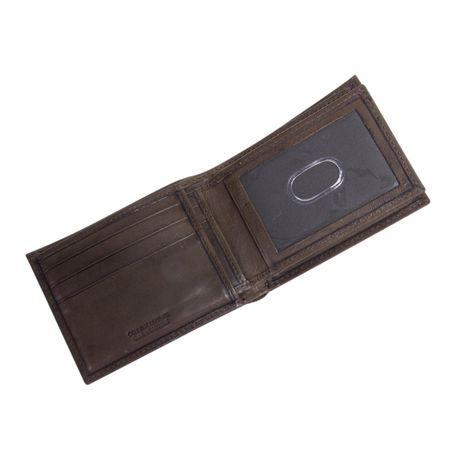R70 Men's Genuine Slimfold Brown Wallet with Pull Id - image 5 of 6