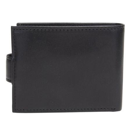 R70 Men's Tab Genuine Slimfold Black Wallet - image 4 of 6