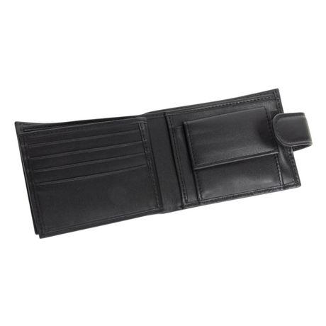 R70 Men's Tab Genuine Slimfold Black Wallet - image 5 of 6