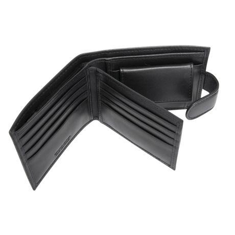 R70 Men's Tab Genuine Slimfold Black Wallet - image 6 of 6