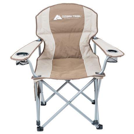 Ozark Trail Big Boy Padded Arm Chair Walmart Canada