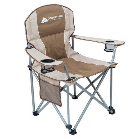 Ozark Trail Big Boy Padded Arm Chair Walmart Canada