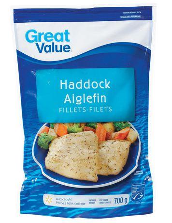 Filets d'Aiglefin Great Value pêché à l'état sauvage - image 1 de 2