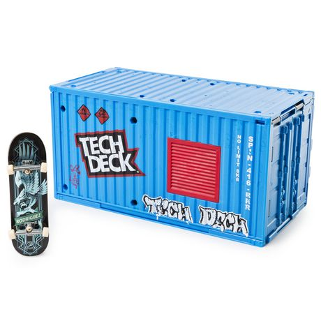 Tech Deck – Transforming SK8 Container with Ramp Set And Skateboard